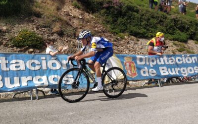 Remco Evenepoel corona la cima de Picón Blanco en la 3ª etapa de la Vuelta a Burgos