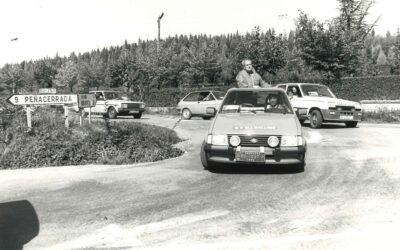 1982: Comienza nuestra aventura como Vehículo Oficial de la Vuelta a Burgos.