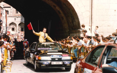 1993/94: Última Vuelta a Burgos para Perico Delgado tras anunciar su retirada.