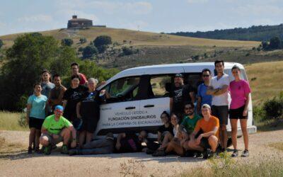 Colaboramos en la campaña de excavaciones del Colectivo Arqueológico Paleontológico de Salas de Los Infantes