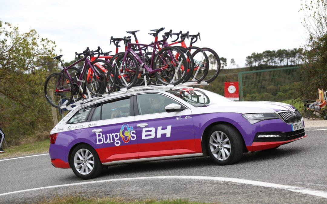 Škoda Motorcid, los coches de Burgos-BH en La Vuelta