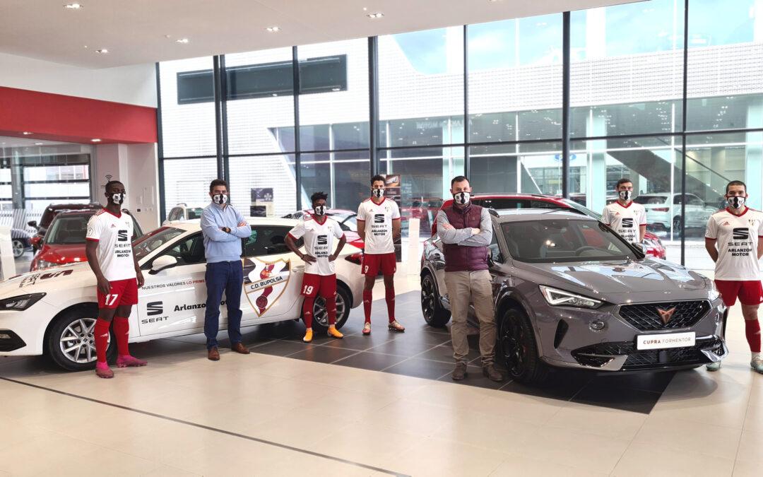 Presentación del equipo SEAT Arlanzón Motor en nuestras instalaciones
