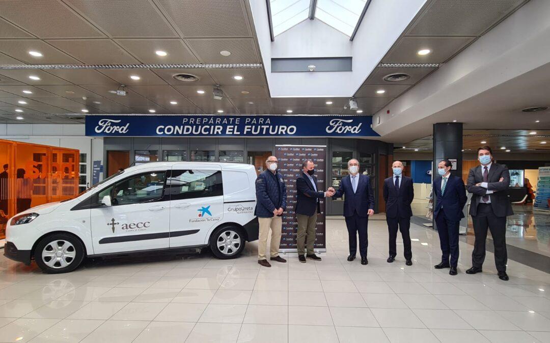 La Asociación Contra el Cáncer de Burgos dispondrá de un vehículo gracias a la colaboración de Grupo Ureta y Fundación «la Caixa»