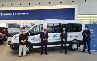La Asociación Parkinson Burgos cuenta con un nuevo vehículo gracias a Grupo Ureta Automóviles y Fundación «la Caixa»