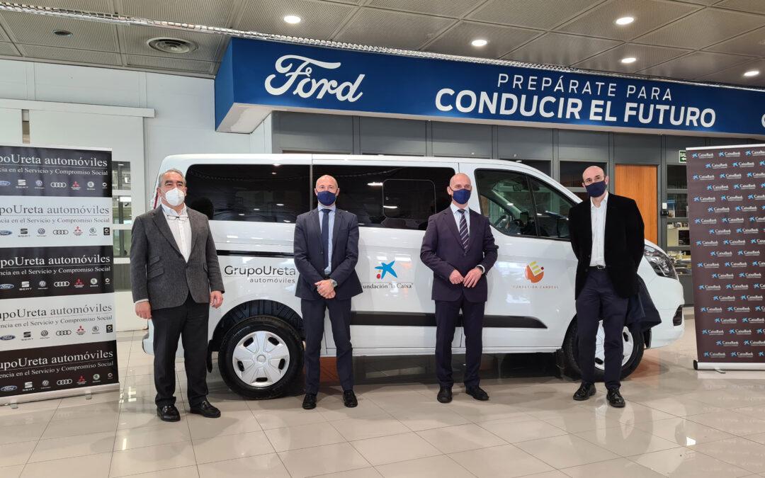 La Fundación Candeal – Proyecto Hombre Burgos dispondrá de un nuevo vehículo gracias a la colaboración de Grupo Ureta Automóviles y Fundación «la Caixa»