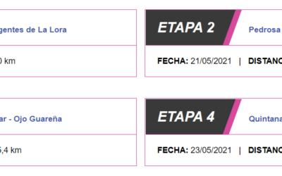 Así son las cuatro etapas de la Vuelta a Burgos Femenina