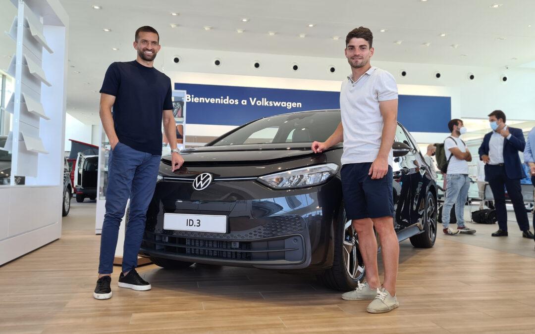 Presentamos en Ural Motor a los nuevos defensas del Burgos CF: Fran García y Grego Sierra.