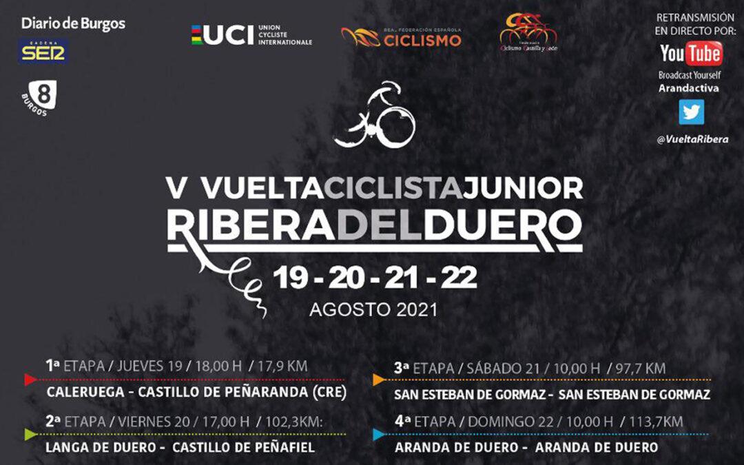 Grupo Ureta Automóviles, vehículo oficial de la V Vuelta Ciclista Junior Ribera del Duero.