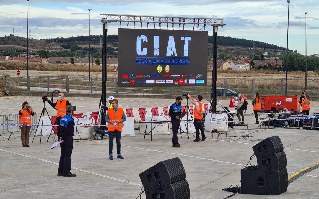Grupo Ureta colabora con la Policía Local de Burgos en el Congreso de Innovación en Accidentes de Tráfico
